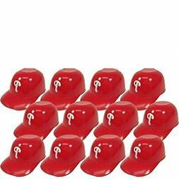 12 each Philadelphia Phillies MLB 8oz Snack Size Ice Cream M