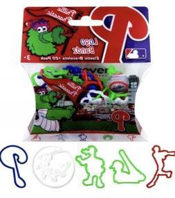 12x Packs Phillies Logo Bandz MLB Forever Elastic Bracelets