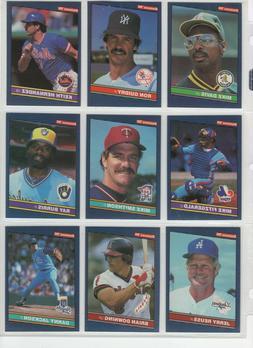 1986 Donruss Baseball Team Sets **Pick Your Team**