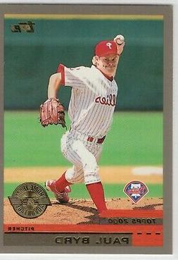 2000 Topps Home Team Advantage Baseball Philadelphia Phillie