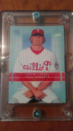 2003 SP Authentic 213 Jeremy Wedel Philadelphia Phillies RC