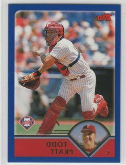 2003 Topps Baseball Philadelphia Phillies Team Set