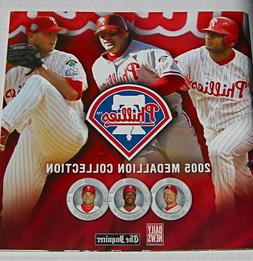 2005 PHILLIES Medallion Collection * 21 NEW Coins Rollins Ut