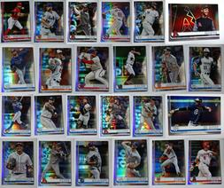 2019 Topps Series 2 Rainbow Parallel Baseball Cards Complete