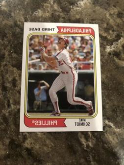 2020 Archives Base #125 Mike Schmidt - Philadelphia Phillies