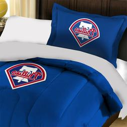 2pc MLB Philadelphia Phillies Twin Size Comforter Set - Spor