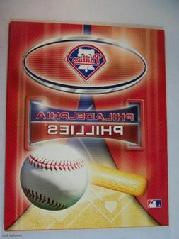 MLB Philadelphia Phillies School Folders Portfolio Notebook