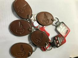 Philadelphia Phillies Keychains Leather NWT