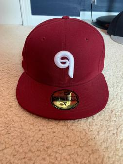 59fifty philadelphia phillies cap hat cooperstown collection