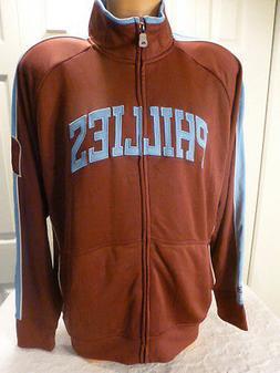 9601-115 PHILADELPHIA PHILLIES Authentic Throwback Full Zip