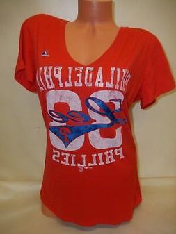 9601 WOMENS Apparel Philadelphia Phillies CLIFF LEE Baseball