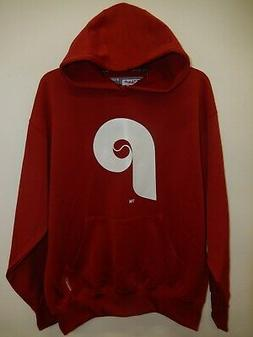 9822 Mens PHILADELPHIA PHILLIES Throwback ThermaBase Hooded