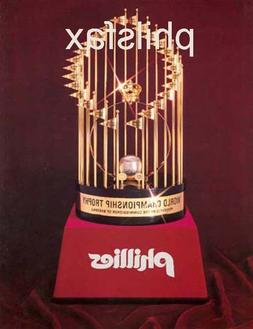 A LASER COLOR PRINT OF THE 1980 PHILADELPHIA PHILLIES WORLD