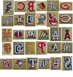 Baseball Team Logo Decal Stickers MLB Licensed Choose from a