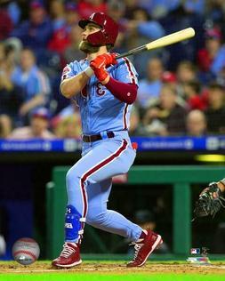 Bryce Harper Philadelphia Phillies 2019 MLB Action Photo WG2