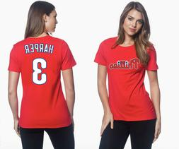 Bryce Harper Philadelphia Phillies #3 MLB Jersey Style Women