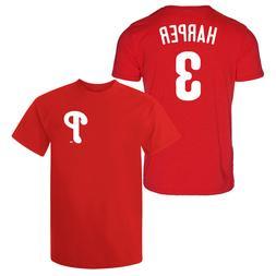 Bryce Harper T-Shirt Philadelphia Phillies MLB Regular/Soft
