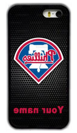 Custom Philadelphia Phillies Personalised Name Rubber Phone