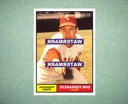 Don Ferrarese Philadelphia Phillies 1961 Style Custom Baseba