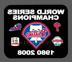 Item#073 Philadelphia Phillies Championship Banner Mouse Pad