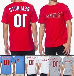 J.T. Realmuto Philadelphia Phillies #10 MLB Jersey Style Men