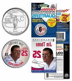 JIM THOME Phillies PROMO Pennsylvania State Quarter Coin & C