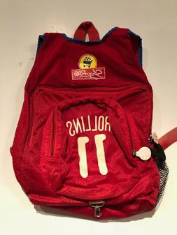 JIMMY ROLLINS PHILADELPHIA PHILLIES VINTAGE SGA YOUTH BACKPA