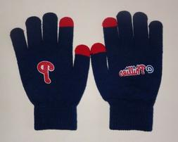 PHILADELPHIA PHILLIES KNIT TEXTING TECHNOLOGY TOUCHSCREEN GL