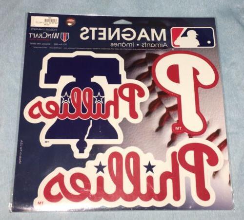 17 Phillies WinCraft 3pk