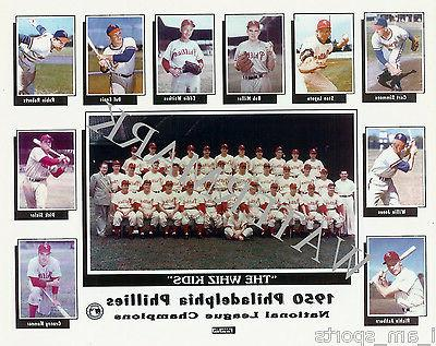 1950 philadelphia phillies whiz kids baseball team