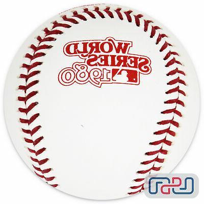 1980 world series official game baseball philadelphia