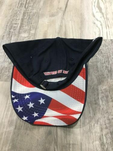 2019 Blue to Service American Flag Cap