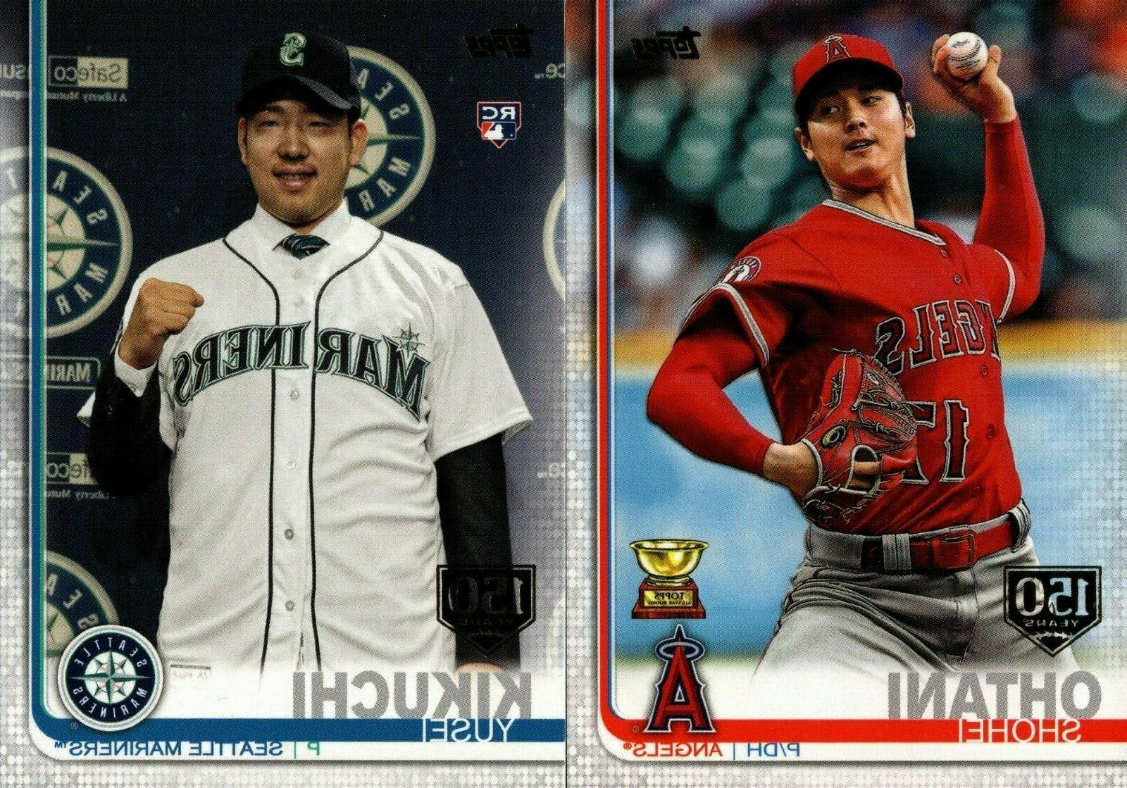2019 topps series 2 150th anniversary foil