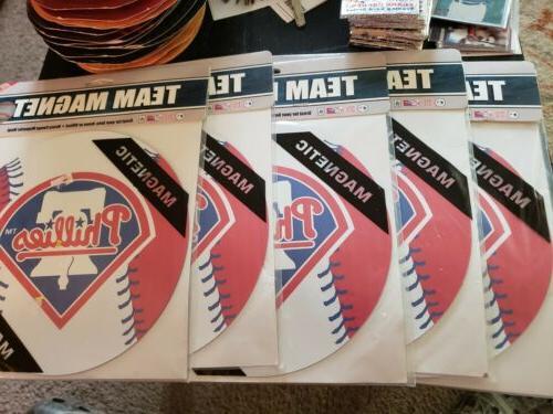 5 Philadelphia Phillies Car  Team Magnets New