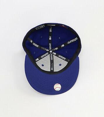 New MLB Mens Royal Hat