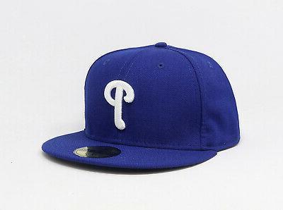 New Era 59Fifty MLB Philadelphia Mens Royal Hat