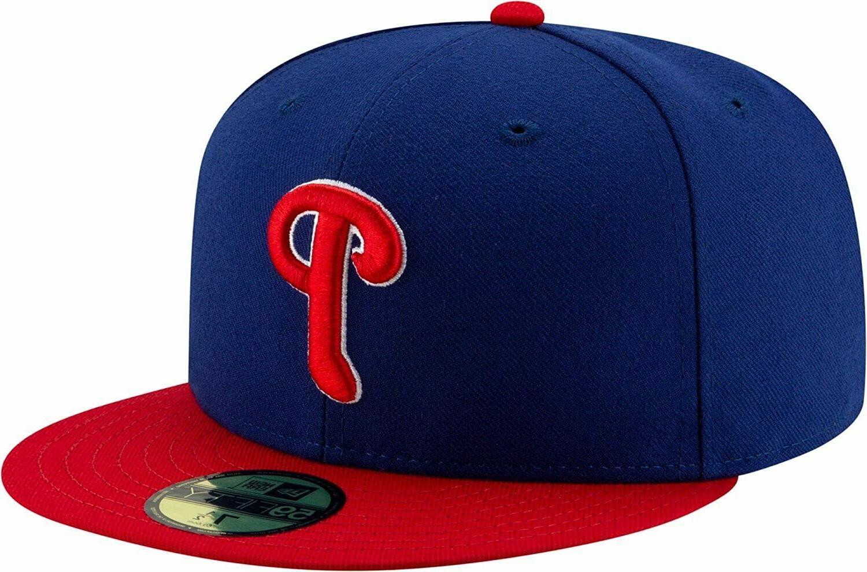 New Era Cap Philadelphia Phillies On Field Hat Size 7