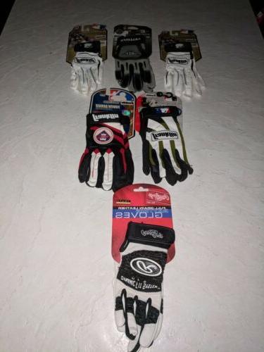 6 pr kid s batting gloves easton