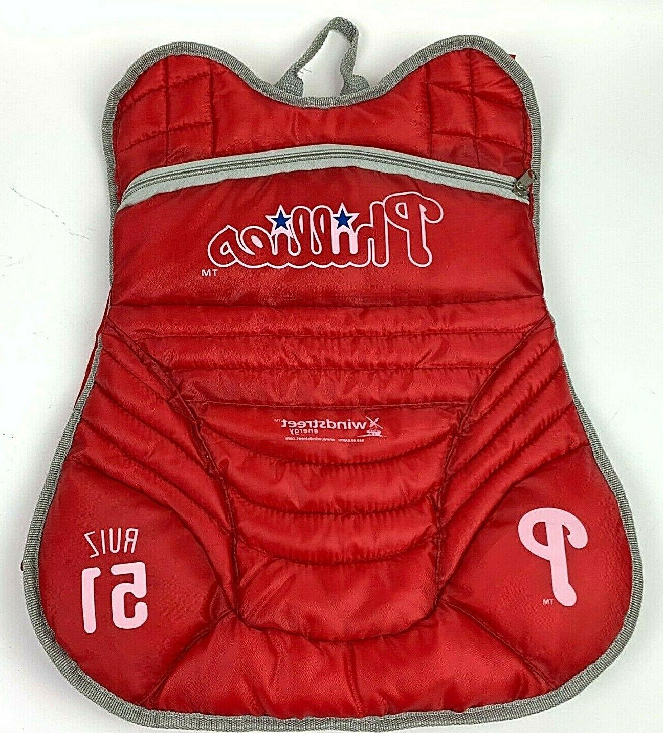 carlos ruiz philadelphia phillies catcher backpack promo