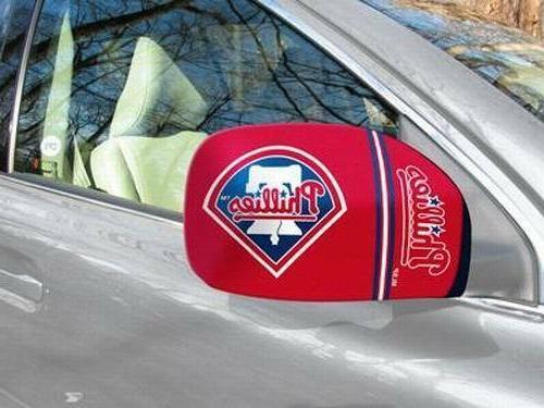 licensed mlb philadelphia phillies car mirror covers