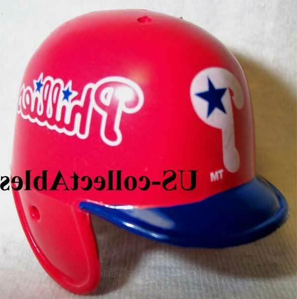 mlb philadelphia phillies baseball helmet keychain new