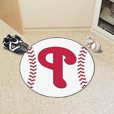 mlb philadelphia phillies baseball rug