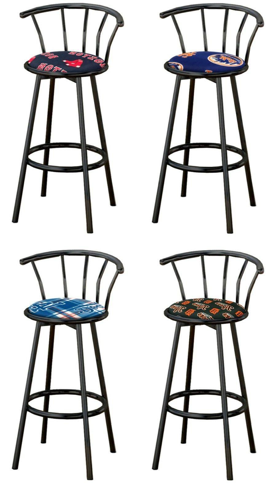 mlb stool 24 or 29 tall black