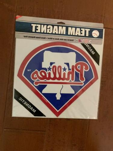 new philadelphia phillies 12 diecut magnet nhl