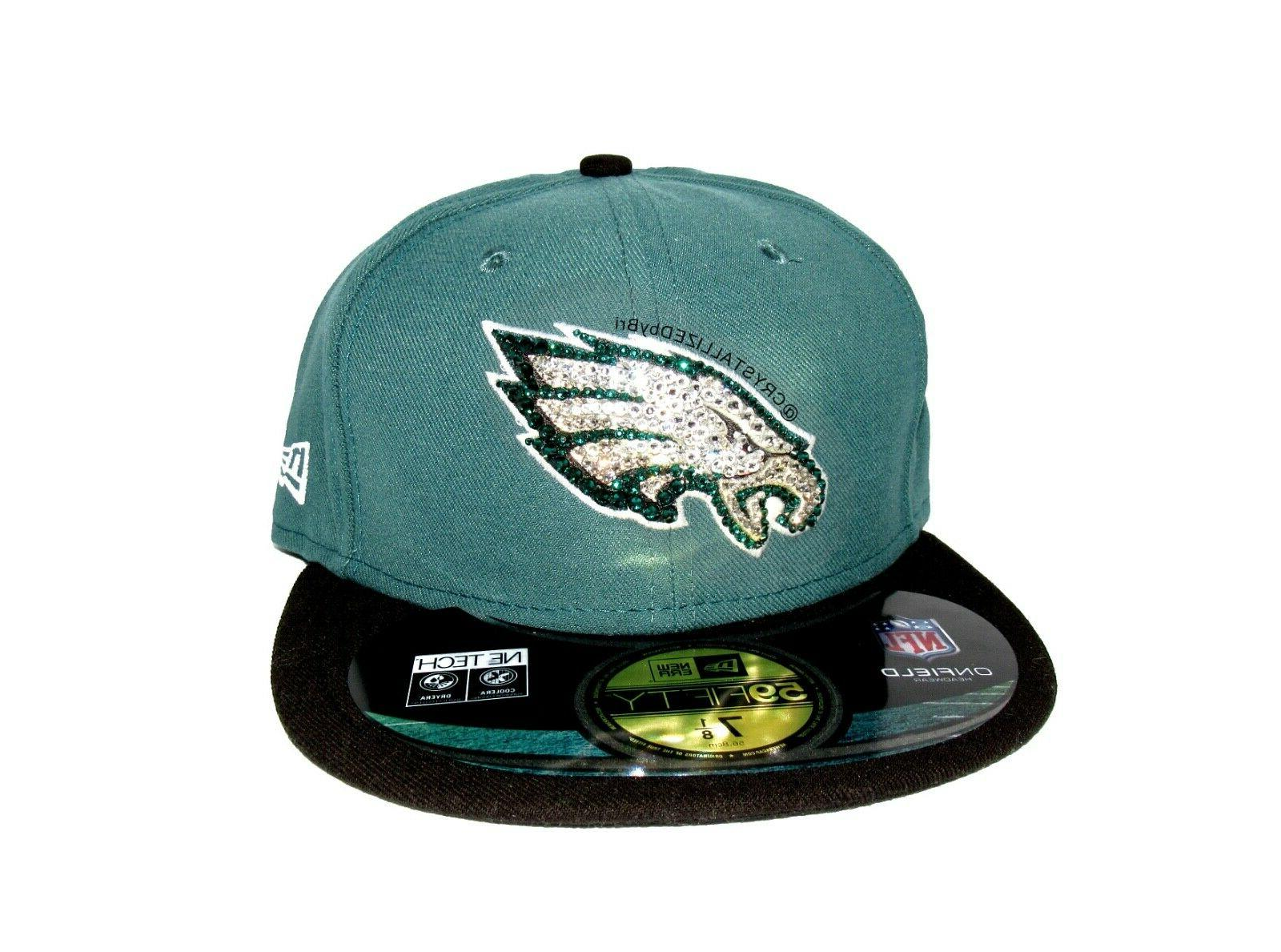nfl crystallized hat snapback baseball cap w