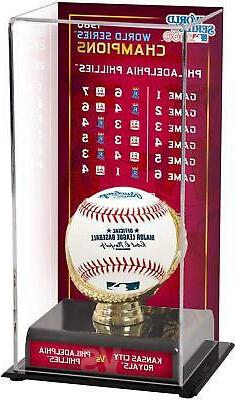 Philadelphia Phillies 1980 World Series Champs Case & Series