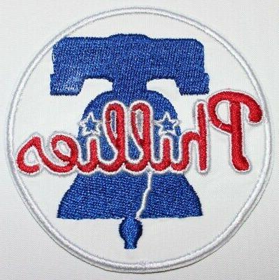 philadelphia phillies 2019 logo baseball embroidered iron