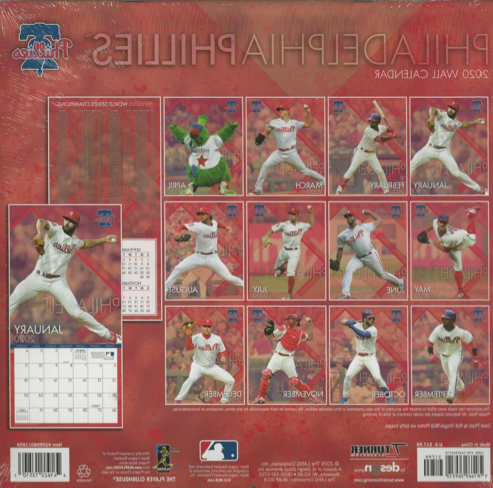 Philadelphia Phillies Calendar Brand New Wrap