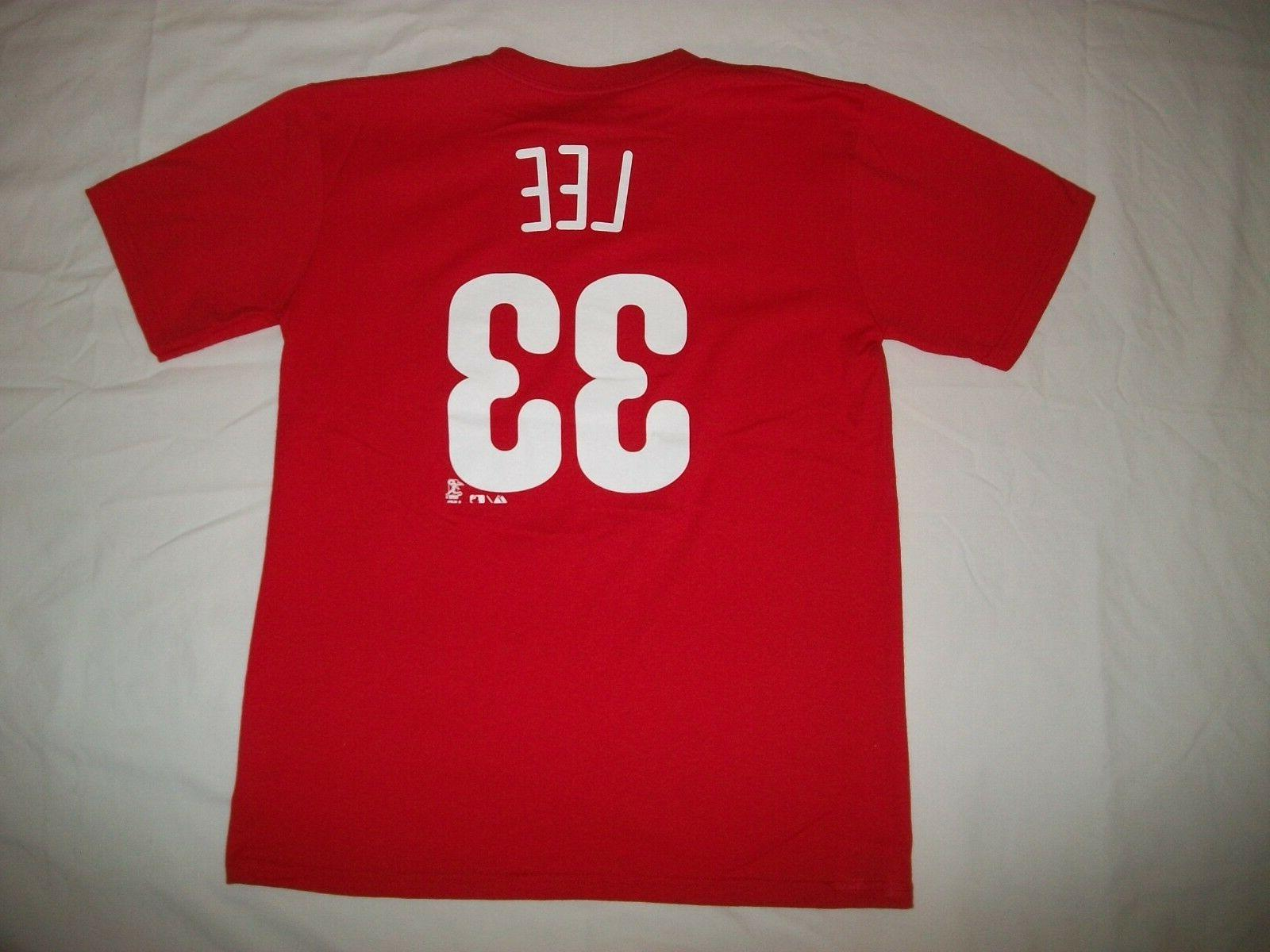 philadelphia phillies 33 cliff lee youth sport