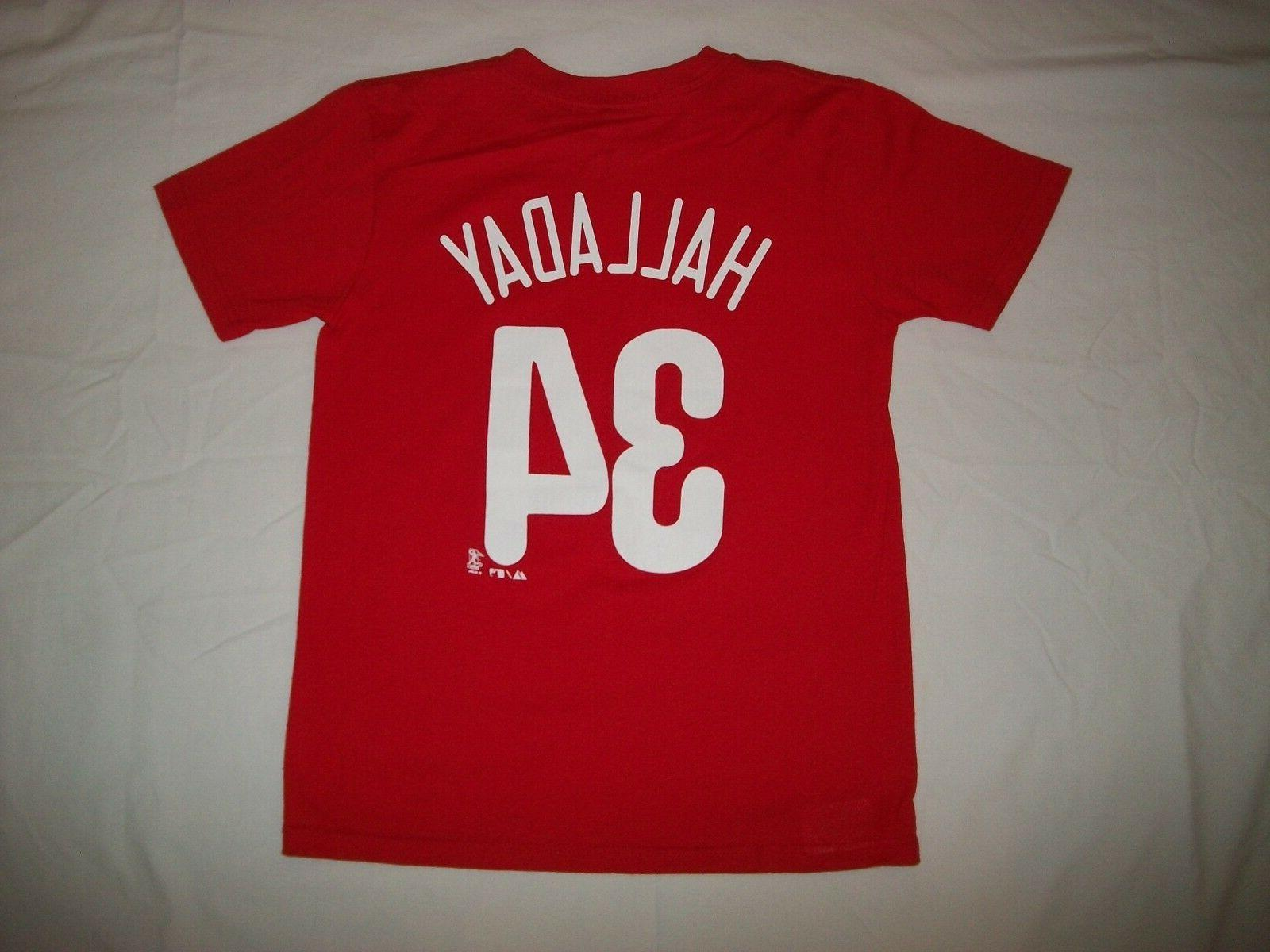 philadelphia phillies 34 roy halladay youth sport